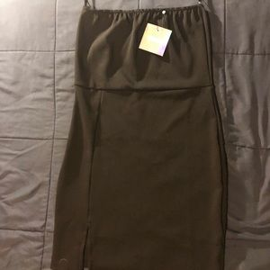 NWT, Misguided Black Dress with no sleeves